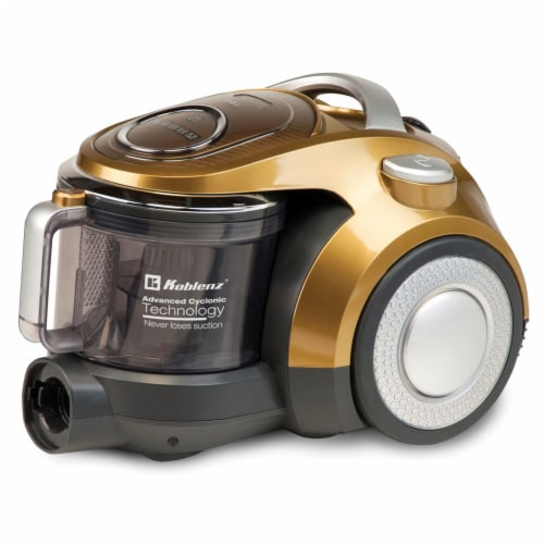 Koblenz KCCP-1800 Equinox Bagless Canister Vacuum Perspective: front