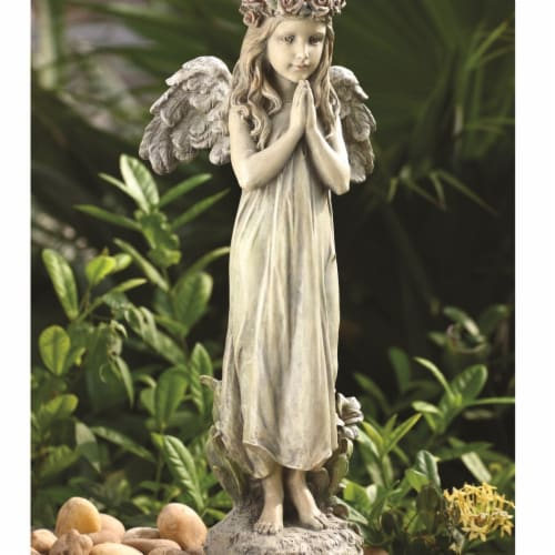 Napco 18495 Praying Angel Statue Perspective: front