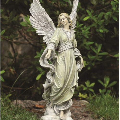 Napco 18574 Accents & Occasions Angel Figure Perspective: front