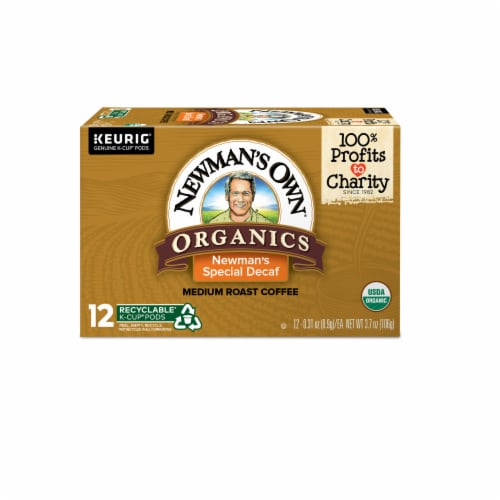 Newman's Own Organics Special Decaf Coffee Perspective: front