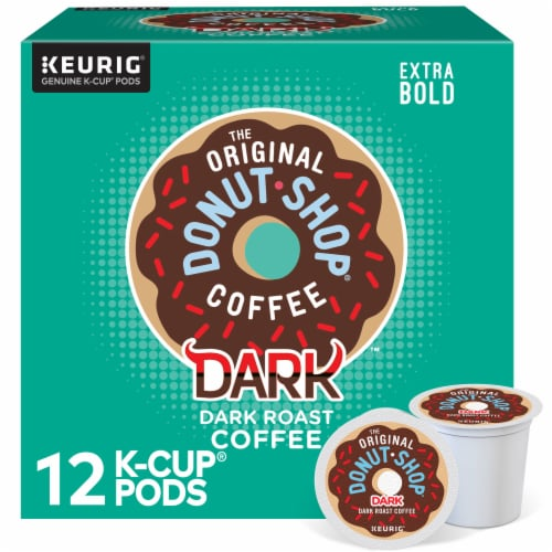 The Original Donut Shop Dark Roast Coffee K-Cup Pods Perspective: front