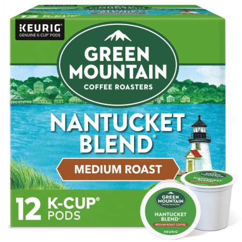 Green Mountain Coffee Nantucket Blend Medium Roast Coffee K-Cup Pods Perspective: front
