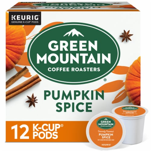 Green Mountain Coffee® Limited Edition Pumpkin Spice Coffee K-Cup Pods Perspective: front