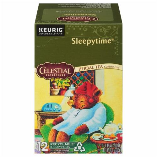 Celestial Seasonings Sleepytime Herbal Tea K-Cup Pods Perspective: front