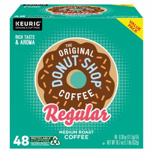 The Original Donut Shop Regular Medium Roast Coffee K-Cup Pods Perspective: front