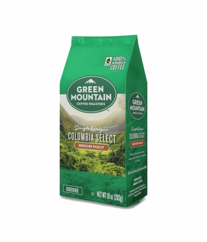 Green Mountain Coffee Colombia Select Medium Roast Ground Coffee Perspective: front