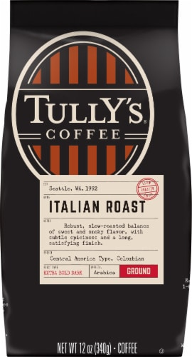 Tully's Coffee Italian Roast Perspective: front