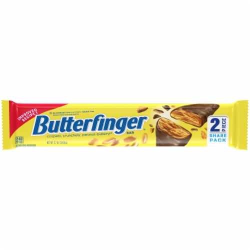 Butterfinger Share Pack Candy Bar Perspective: front