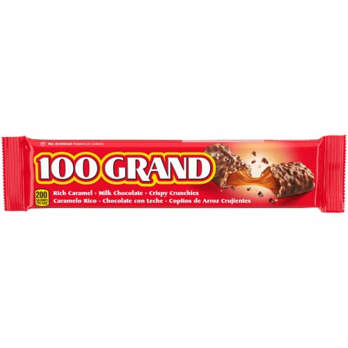 100 Grand Candy Bar Perspective: front
