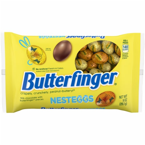 Butterfinger NestEggs Easter Candy Perspective: front