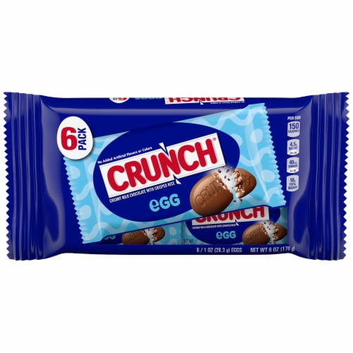 CRUNCH Egg Candy Bars Perspective: front