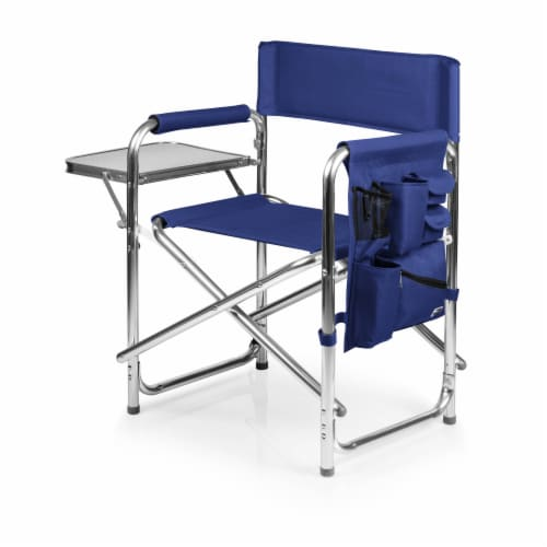 Sports Chair, Navy Blue Perspective: front