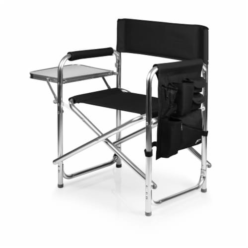 Sports Chair, Black Perspective: front