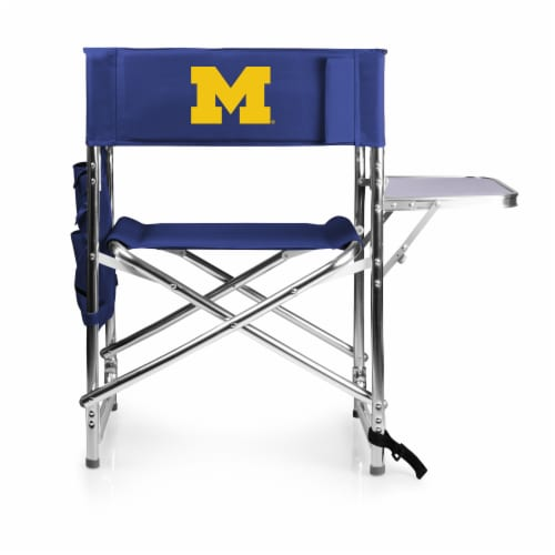 Michigan Wolverines - Sports Chair Perspective: front