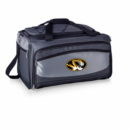 Missouri Tigers - Portable Charcoal Grill & Cooler Tote Perspective: front