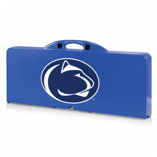 Penn State Nittany Lions - Picnic Table Portable Folding Table with Seats Perspective: front