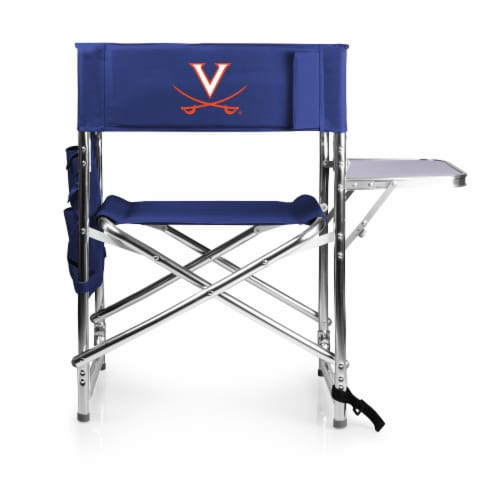 Virginia Cavaliers - Sports Chair Perspective: front