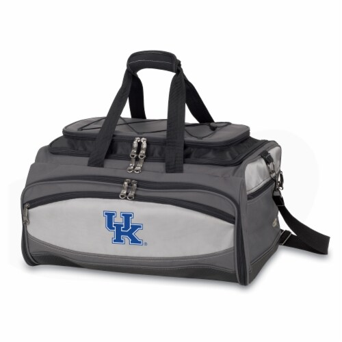 Kentucky Wildcats - Portable Charcoal Grill & Cooler Tote Perspective: front