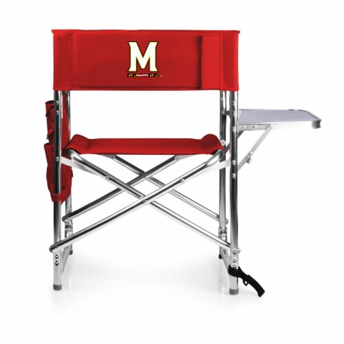 Maryland Terrapins - Sports Chair Perspective: front