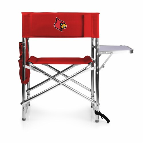 Louisville Cardinals - Sports Chair Perspective: front