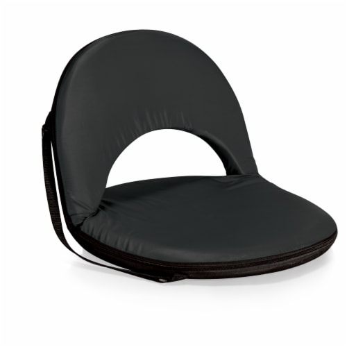 Oniva Portable Reclining Seat, Black Perspective: front