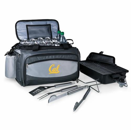 Cal Bears - Vulcan Portable Propane Grill & Cooler Tote Perspective: front