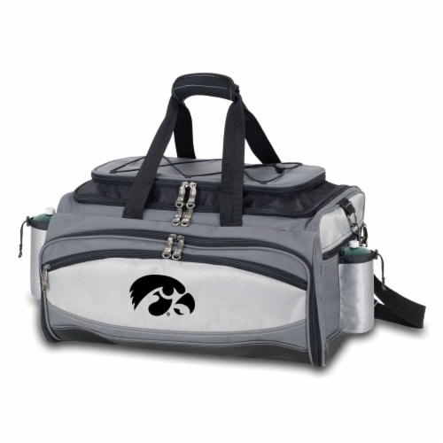 Iowa Hawkeyes - Vulcan Portable Propane Grill & Cooler Tote Perspective: front