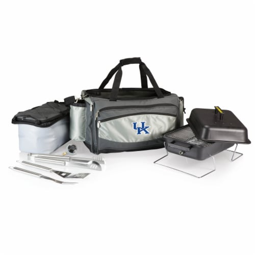 Kentucky Wildcats - Vulcan Portable Propane Grill & Cooler Tote Perspective: front