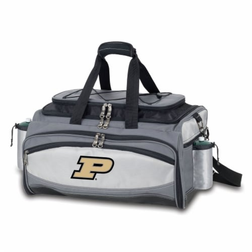 Purdue Boilermakers - Vulcan Portable Propane Grill & Cooler Tote Perspective: front