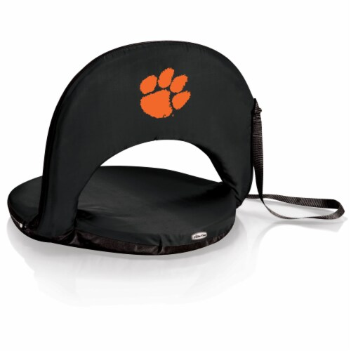Clemson Tigers - Oniva Portable Reclining Seat Perspective: front