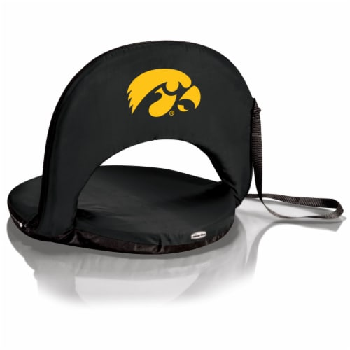 Iowa Hawkeyes - Oniva Portable Reclining Seat Perspective: front