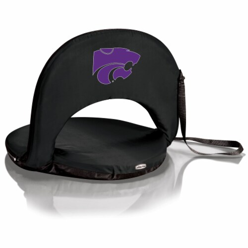 Kansas State Wildcats - Oniva Portable Reclining Seat Perspective: front