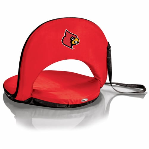 Louisville Cardinals - Oniva Portable Reclining Seat Perspective: front