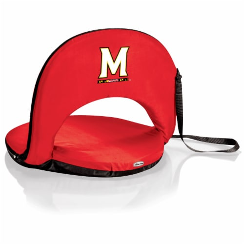 Maryland Terrapins - Oniva Portable Reclining Seat Perspective: front
