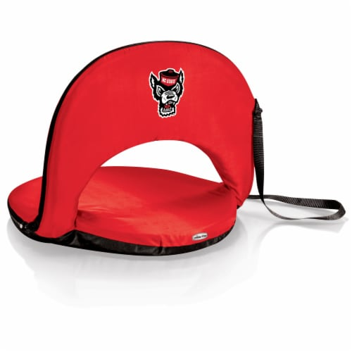 NC State Wolfpack - Oniva Portable Reclining Seat Perspective: front
