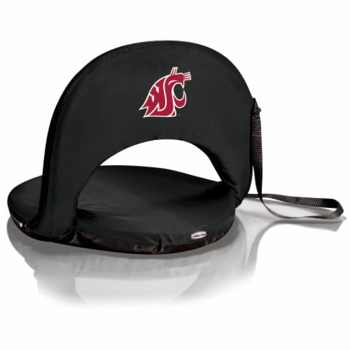 Washington State Cougars - Oniva Portable Reclining Seat Perspective: front