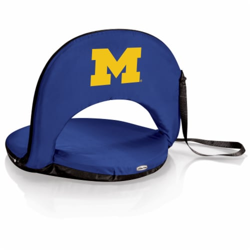 Michigan Wolverines - Oniva Portable Reclining Seat Perspective: front