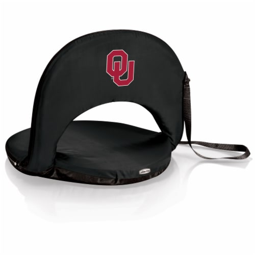 Oklahoma Sooners - Oniva Portable Reclining Seat Perspective: front