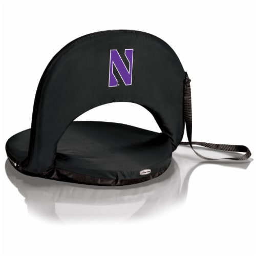 Northwestern Wildcats - Oniva Portable Reclining Seat Perspective: front