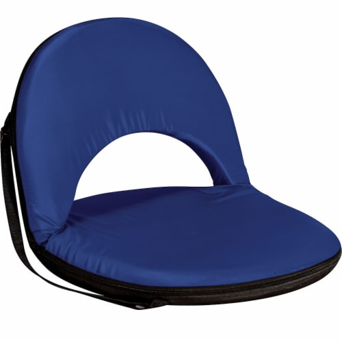 Oniva Portable Reclining Seat, Navy Blue Perspective: front