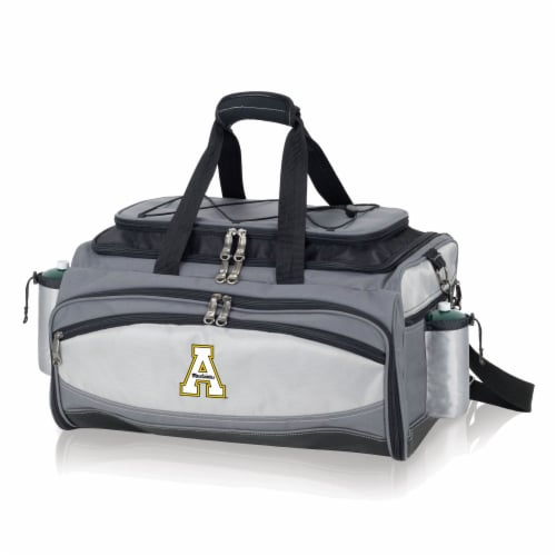 App State Mountaineers - Vulcan Portable Propane Grill & Cooler Tote Perspective: front