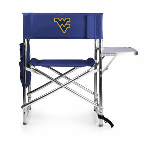 West Virginia Mountaineers - Sports Chair Perspective: front