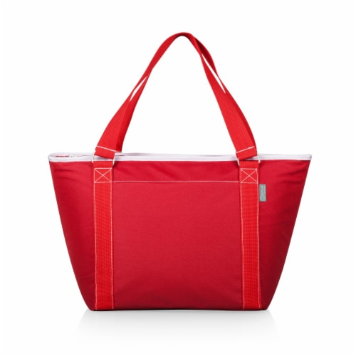 Topanga Cooler Tote Bag, Red Perspective: front