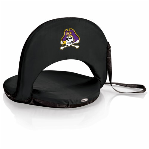 East Carolina Pirates - Oniva Portable Reclining Seat Perspective: front