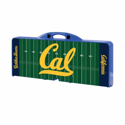 Cal Bears Portable Picnic Table Perspective: front