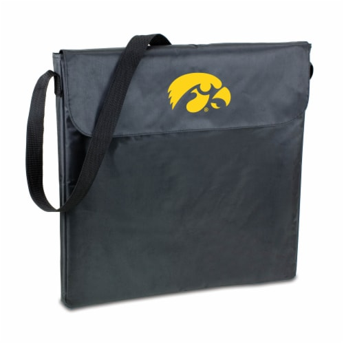Iowa Hawkeyes - X-Grill Portable Charcoal BBQ Grill Perspective: front