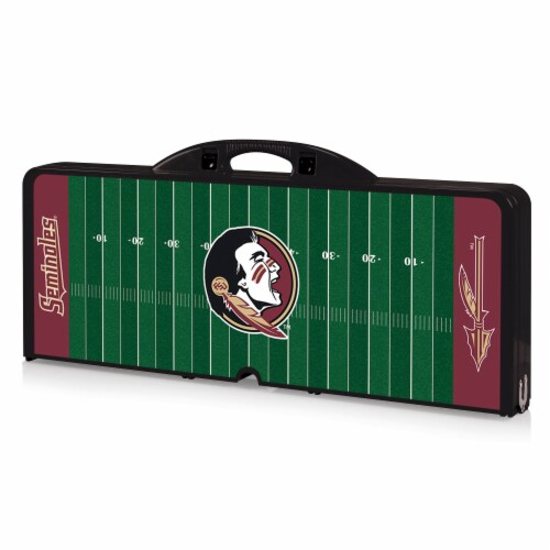 Florida State Seminoles Portable Picnic Table Perspective: front