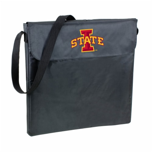 Iowa State Cyclones - X-Grill Portable Charcoal BBQ Grill Perspective: front