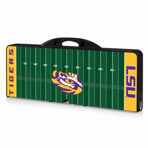 LSU Tigers Portable Picnic Table Perspective: front