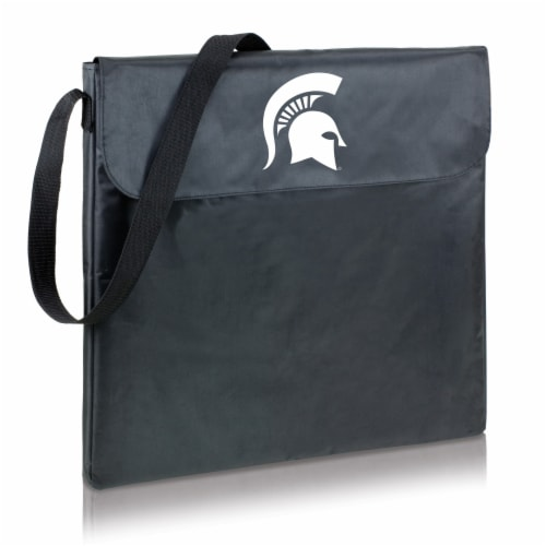 Michigan State Spartans - X-Grill Portable Charcoal BBQ Grill Perspective: front